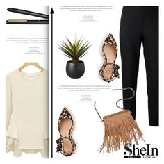 """""""Favourite Set Of The Week (Sponsored Contests / SheIn)"""" by antemore-765 ❤ liked on Polyvore featuring GHD, Jil Sander Navy, Patchington, J.Crew and CB2"""