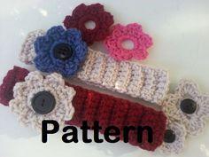 Silly Mimi @PoochieBaby: Ribbed Crochet Headband: Free Pattern