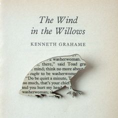 The Wind In The Willows by Kenneth Grahame | 17 Literary Brooches That Let You Wear Your Favorite Book