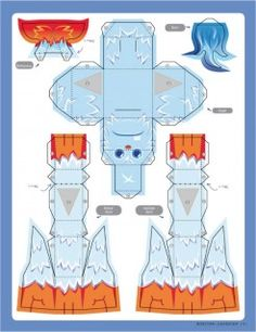 Blog_Paper_Toy_papertoy_Icy_Huggy_template_preview