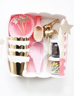 DIY Cookie Decorating Party Kit via momsbestnetwork.com