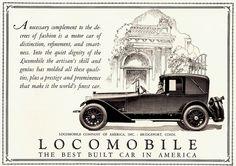 1925 Locomobile Cabriolet Town Car
