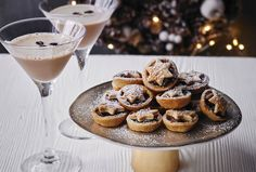 I'm definitely going to be making these this year! Mini mince pies with Baileys Original Irish Cream.