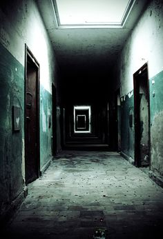 That place looks awsome not creepy i love scary movies so im used to it