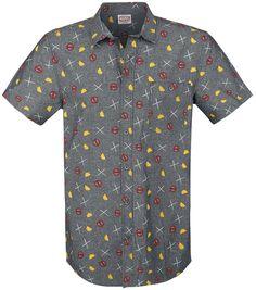 2 - Party Shirt met korte mouwen - Nu bestellen bij Large