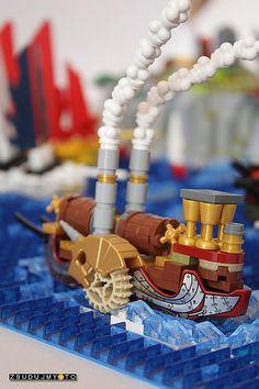 ~ Lego Mocs ~ Steampunk ~ SeaHorse