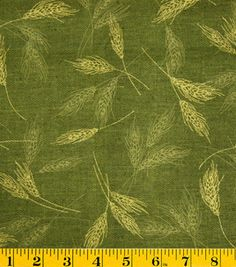 Metallic Pumpkin Fabric