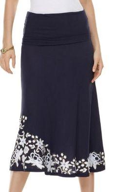 inc international concepts embroidered skirt dress