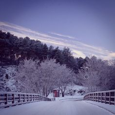 On a cold morning walk in porvoo, finland via #voyagesetc