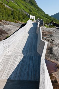 Tungeneset viewpoint - National Tourist Routes in Norway, Senjahopen, 2007 - Code Arkitektur
