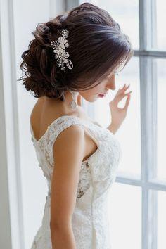 Los 10 mejores peinados de novias con tocados   Moda y Belleza