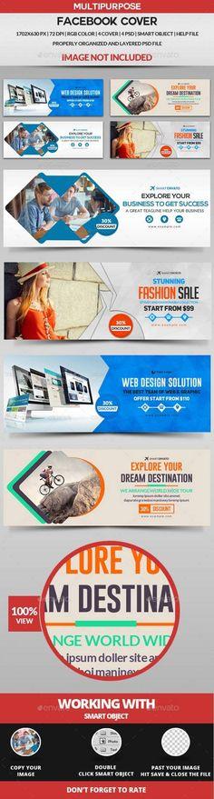 Facebook Cover - 4 Design 16826917