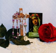 Unbreakable Chaplet of St. Rose of Lima  Patron by foodforthesoul, $31.95