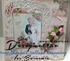 Barnemix - Bryllupskort med motiv fra Lulu Design Art