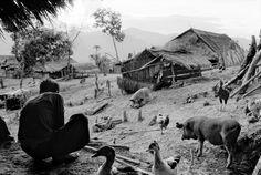LAOS. Near Luang Prabang, village of Meos. 1975.