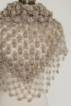 Best 12 Wedding Shawl,Beige Shawl, Wedding Cape, Bridal Shawl Crochet custom shawls for your wedding and many occasion Color shown on the picture # Glitter Oatmeal ( rose gold interwoven ) Shape, triangular Made to order Please allow me 2 to 5 days to Winter Wedding Shawl, Wedding Cape, Winter Weddings, Bridal Shrug, Bridal Cover Up, Red Glitter, Crochet Shawl, Knitting Designs, Bridal Accessories