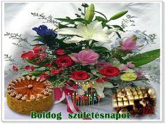 """Képtalálat a következőre: """"születésnapi képeslap nőknek"""" Floral Wreath, Happy Birthday, Table Decorations, Home Decor, Erika, Gardening, Facebook, Google, Dios"""