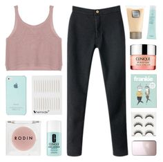 """take me back to the basics and the simple life"" by kristen-gregory-sexy-sports-babe ❤ liked on Polyvore featuring Chicnova Fashion, Clinique, Aveda, Laura Mercier and Rodin Olio Lusso"