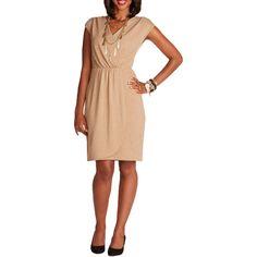 564b3bd2297 Alexis Taylor Women s Knit Shine Surplice Dress Surplice Dress