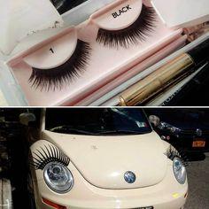 Didn't know we'd wind up on a Beetle! @laurenmakeupnyc #lashes #volkswagen #beetle #eyes #MakeUp #preparing #behindthescenes #studiorental #brooklyn #photostudio  https://www.facebook.com/BondStreetStudio/photos/a.623040917741976.1073741825.183622871683785/910036959042369/?l=44b68adc44