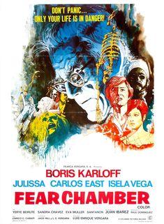 Fear Chamber, 1968 | Poster #horror