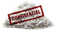 Shred for Security- Keep your confidential files secure
