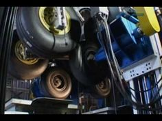 Airbus A380 Landing Gear Test - YouTube