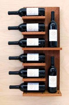 Gran idea para tu porta vinos