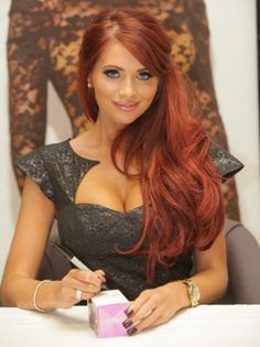 Amy Childs | Hair down...