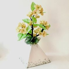 Origami Cherry Blossom in Origami Vase - available in shop on website
