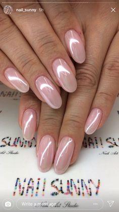 Bries Hochzeit - Rezepte - french tip nails Gradiant Nails, Pink Nails, My Nails, Crome Nails, Nails Kylie Jenner, Pearl Nails, Wedding Nails Design, Wedding Manicure, French Tip Nails