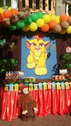 Party lion guard