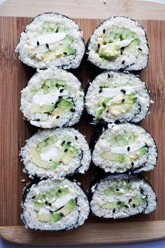 keto sushi vertikální finále