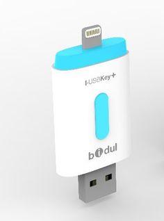 I-USBKey+ 64GB - Clé USB pour iPhone et iPad, Apple MFI Certifié avec connecteur Lightning BIDUL http://www.amazon.fr/dp/B00SH5NJEE/ref=cm_sw_r_pi_dp_4QJ0vb0QGYVSP