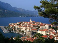 On my list, to visit GGrandma & GPapa family.  Information on visiting the island of Korcula, Croatia, including getting to the island, accommodation, sightseeing and more!