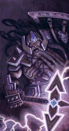 Thunder axe #dwarf #rpg #d&d #dnd