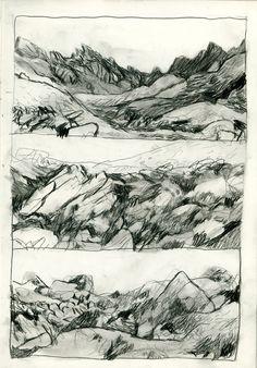 MASSIF DE BELLEDONNE - Benoit Guillaume illustration