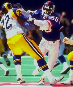 """Lawrence Taylor, New York Giants; Greatest Outside Linebacker of """"All Times"""""""