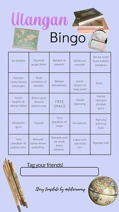 Bingo Template, Templates, Bingo Games, Instagram Story Template, Instagram Quotes, Quote Aesthetic, Tweet Quotes, Self Development, Oreo