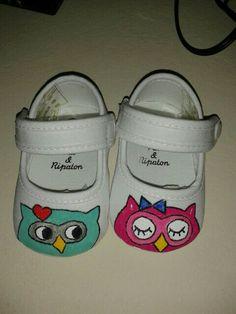 Zapatillas de bebé@Kathleen Herman