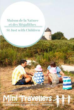 Maison de la Nature et des Mégalithes at St Just with Children