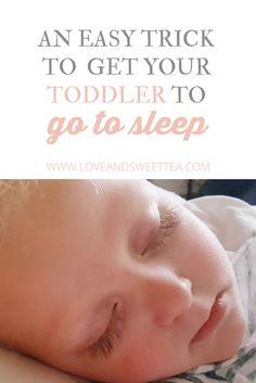 Are you having a hard time getting your toddler to go to sleep? I have discovered a really fun trick to get my toddler to sleep.  I'm far from a perfect mom, but I do have my genius mommy moments. This one of my favorite strokes of mommy genius. Who doesn't want (and let's be honest, absolutely need) more sleep?  For real.
