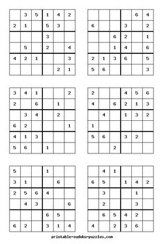 photo relating to 6x6 Sudoku Printable named 370 Excellent Sudoku photographs within just 2017 Sudoku puzzles, Maths