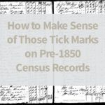 Back to Genealogy Basics - The 1800's Census, Part 2