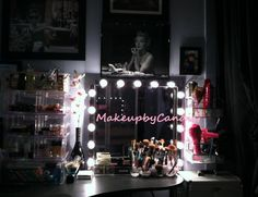 DIY Vanity By:  www.makeupbycandig.com