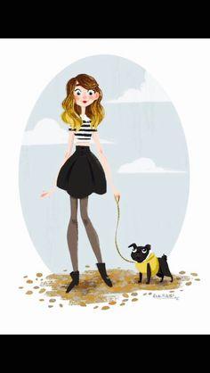 Zoella fan art!!! So cute I love it! Nala is so nice