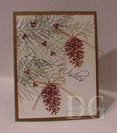stampin up peaceful wishes - Google Search