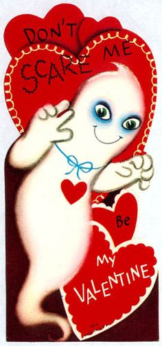 Vintage Valentine's Day card.