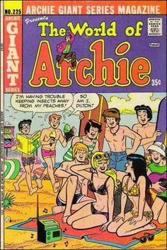 World of Archie 225, Archie Comic Publications, Inc.  https://www.pinterest.com/citygirlpideas/archie-comics/