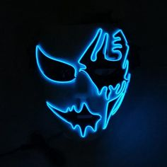 This brand new Two Face LED Mask is perfect for Halloween Parties! Get yours today.